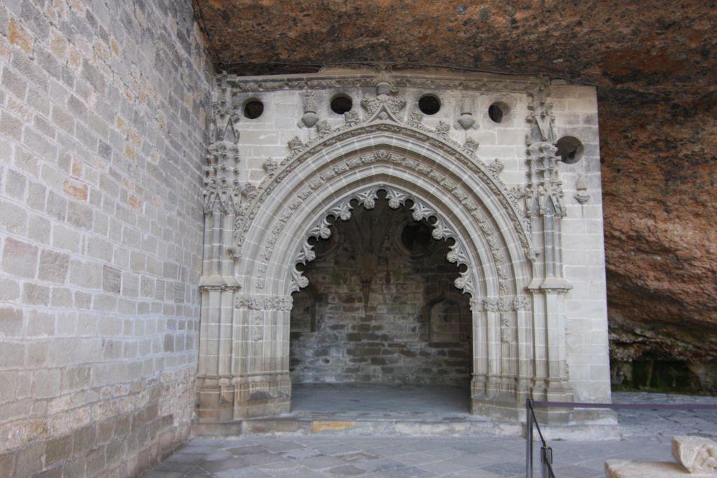 Spategotische Kapelle des Heiligen Victorian im Kloster San Juan de La Pena in Aragón