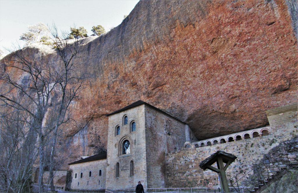 Felsenkloster San Juan de La Pena in Aragón, Spanien