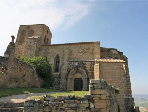 Wehrkirche San Salvador in Gallipienzo