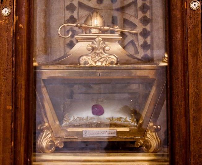 Reliquienschrein des Heiligen Veremundo