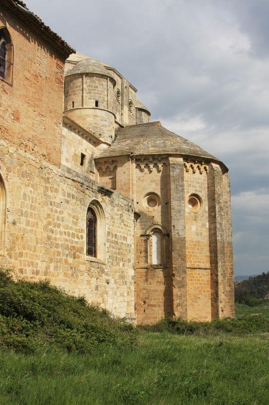 Apsis der Klosterkirche Santa María la Real de Irache