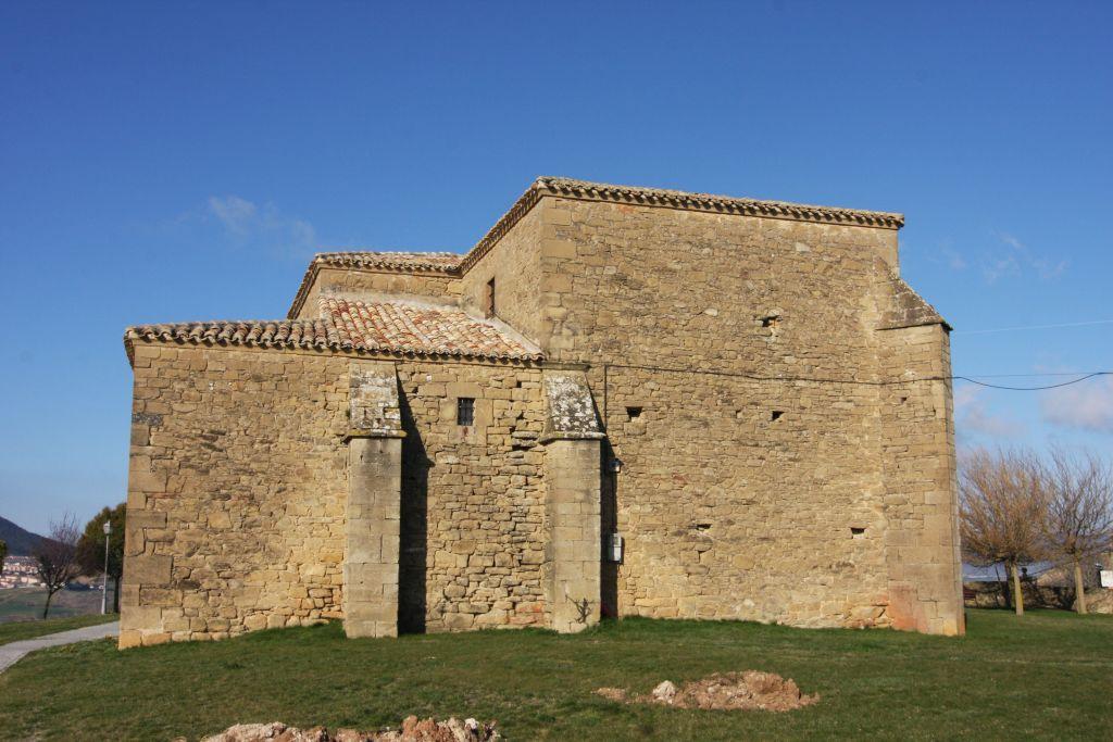 Kirche San Miguel in Olcoz, Navarra, Spanien