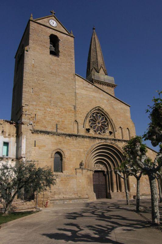 Kirche San Pedro in Olite, Navarra