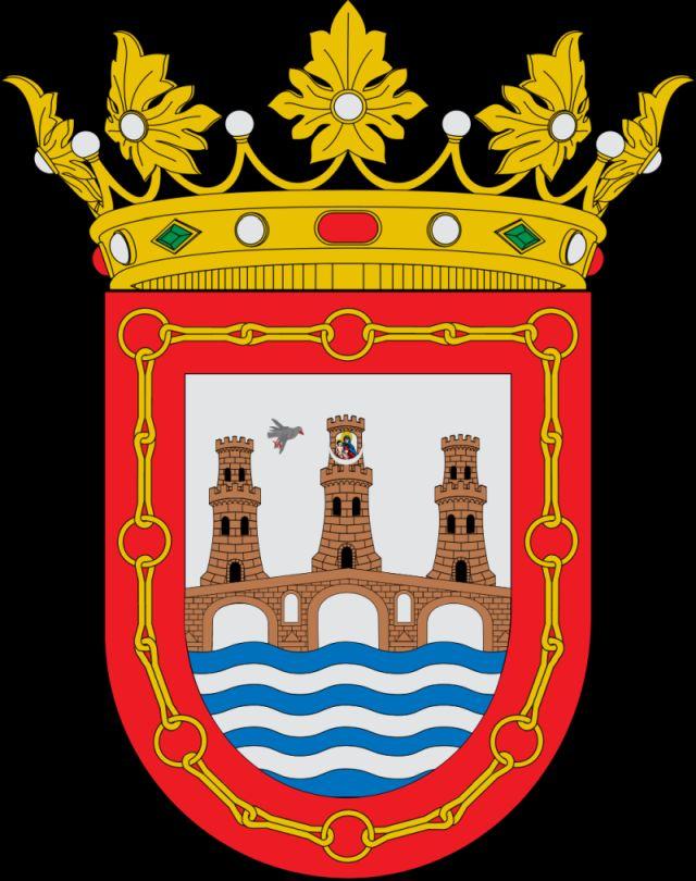 Wappen der Stadt Puente la Reina in Navarra