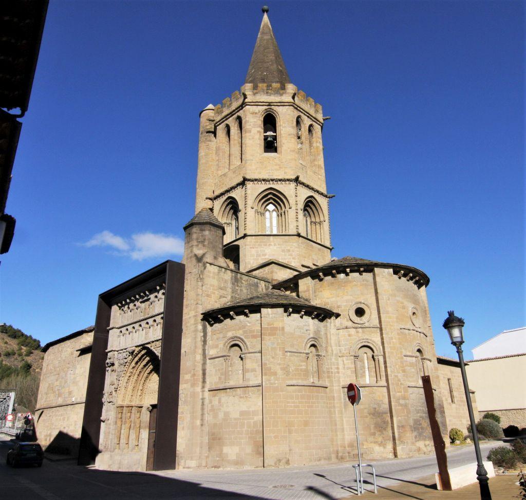 Iglesia Santa Maria la Real in Sanguesa