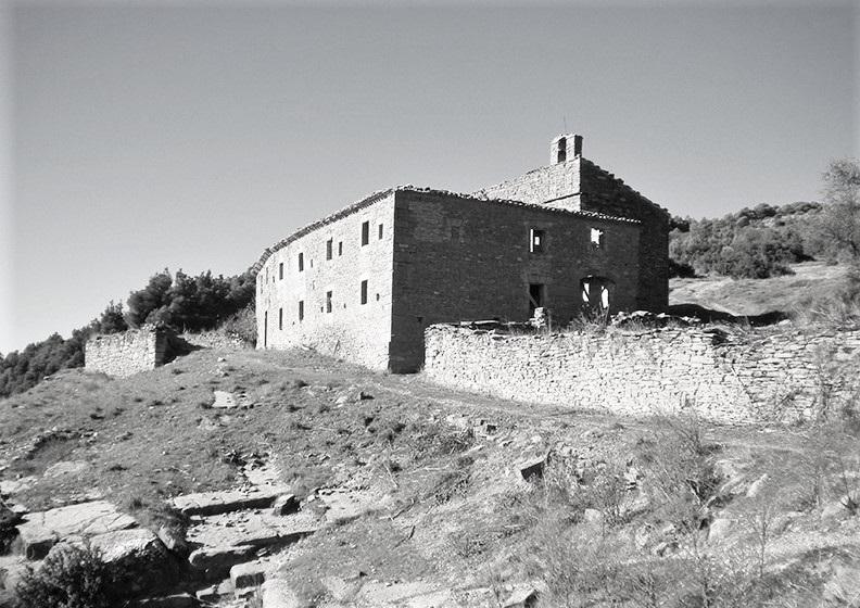 Ruinen eines ehemaligen Klosters in Rocaforte