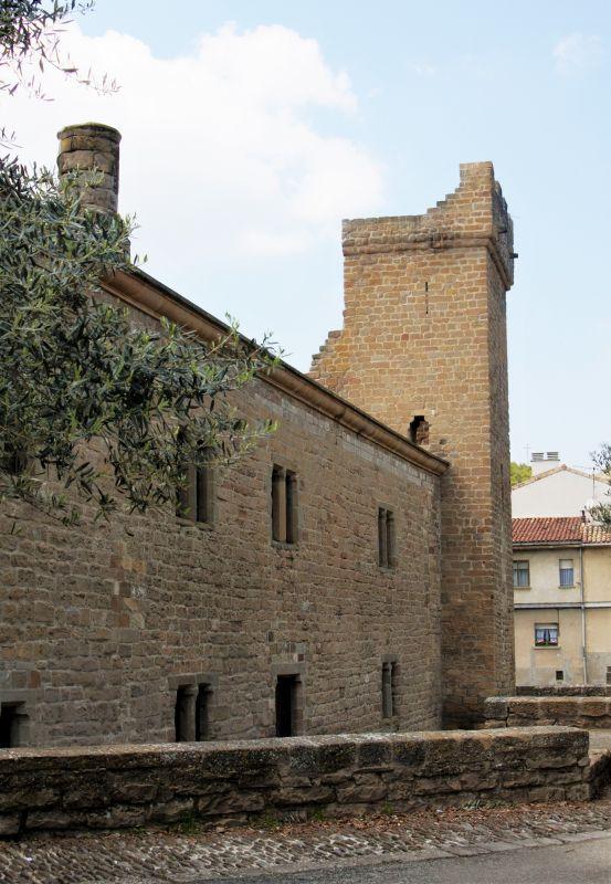 Palacio del Príncipe de Viana in Sanguesa, Navarra