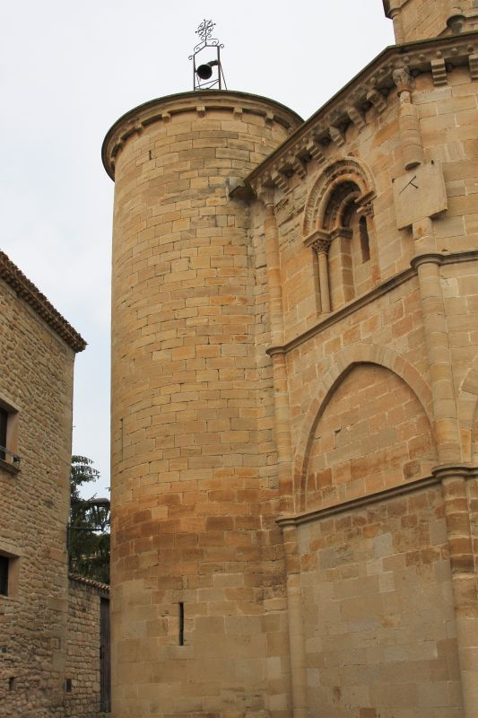 Heilig-Grab-Kirche in Torres del Río, Navarra