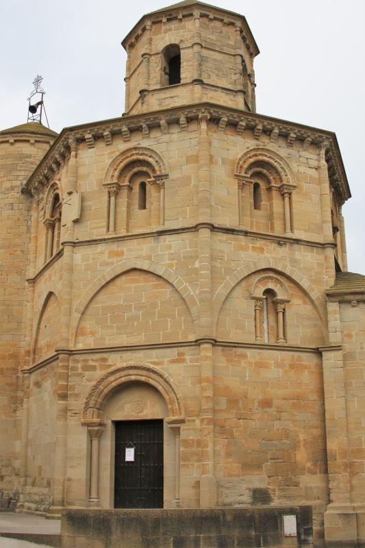 Heilig-Grab-Kirche in Torres del Río, Spanien