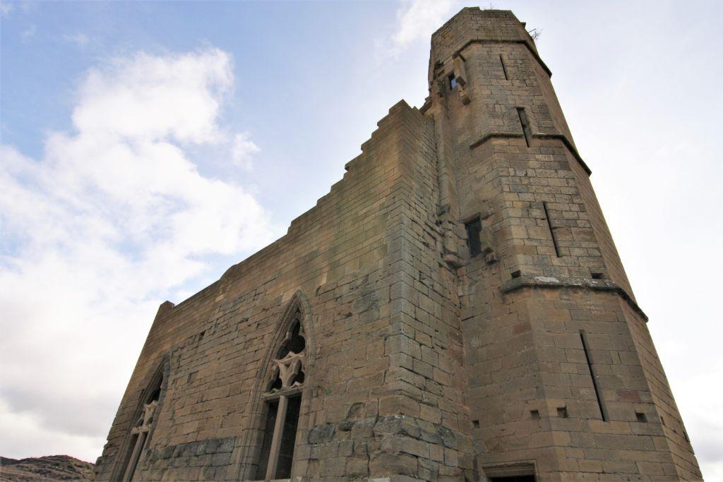Ruine des gotischen Palasts Pedro IV. von Aragon