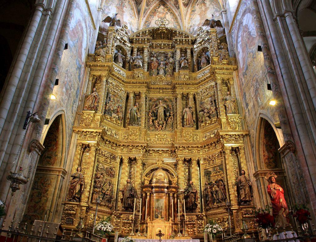 Hochaltar der Kirche Santa Maria in Viana