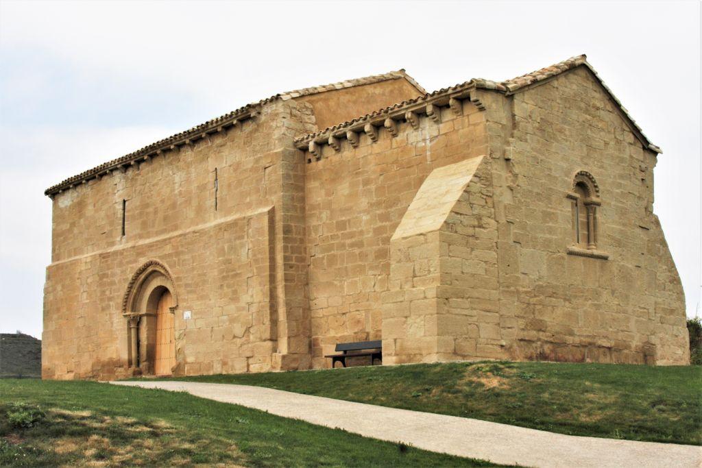 Ermita de San Martín de Tidón in der Naehe von Viana