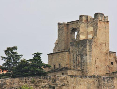 Ruinen der Kirche San Pedro in Viana