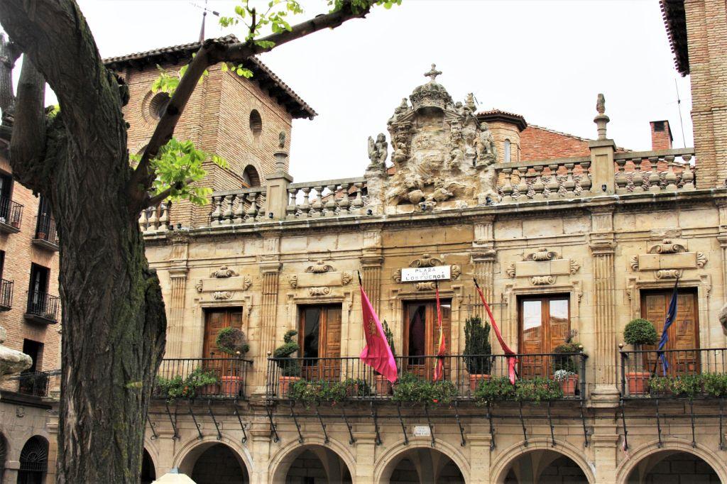 Rathaus in Viana, Navarra
