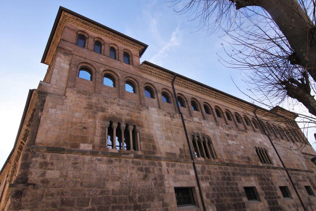 Palacio de los Reyes - Palast der Koenige - in Estella, Navarra