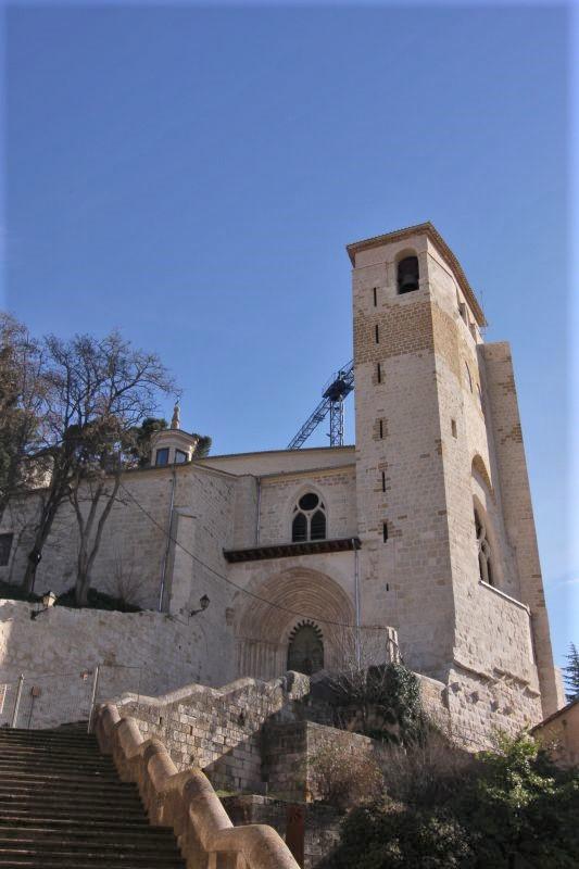 Iglesia San Pedro de la Rua in Estella, Navarra