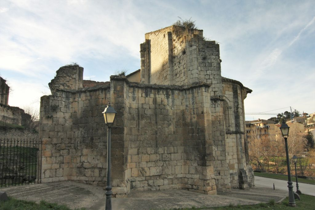Iglesia Santo Sepulcro in Estella, Navarra