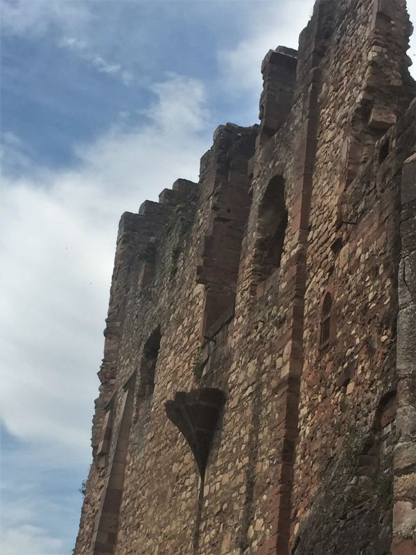 Festungsruine Hochburg bei Emmendingen