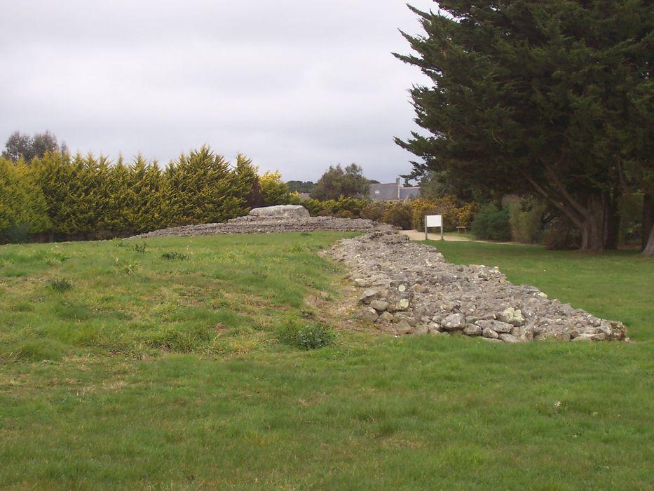 Tumulus Er Grah in Locmariaquer, dem Megalithenmuseum der Superlative in der Bretagne