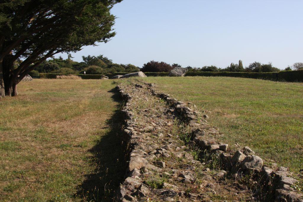 Tumulus Er Grah in Locmariaquer, dem Megalithenmuseum der Superlative