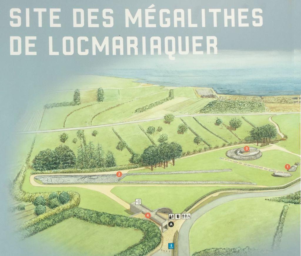 Locmariaquer, das Megalithenmuseum der Superlative in der Bretagne