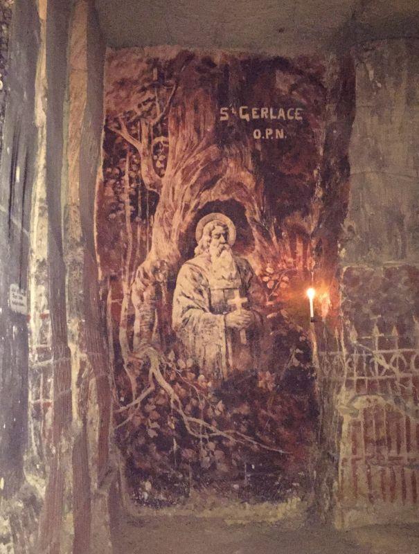 Bildnis aus der Fluweelengrotte in Valkenburg