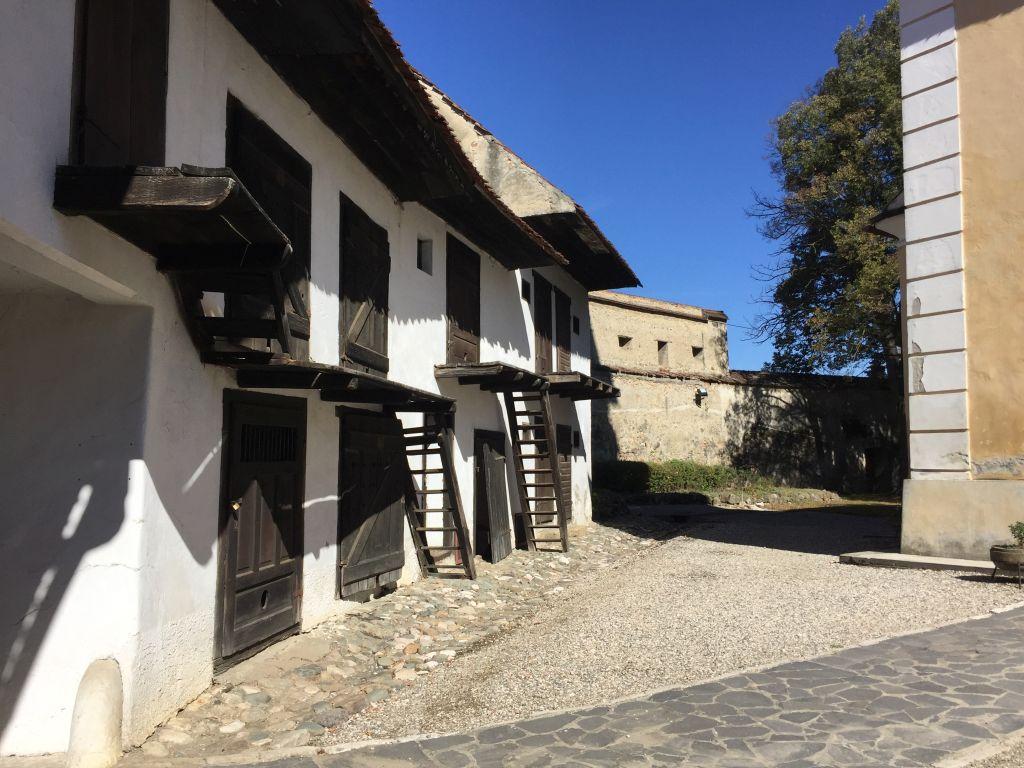 Fruchtkammern der Kirchenburg von Wolkendorf / Vulcan, Burzenland