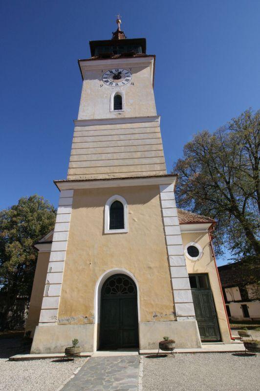 Glockenturm der Kirchenburg von Wolkendorf / Vulcan, Burzenland