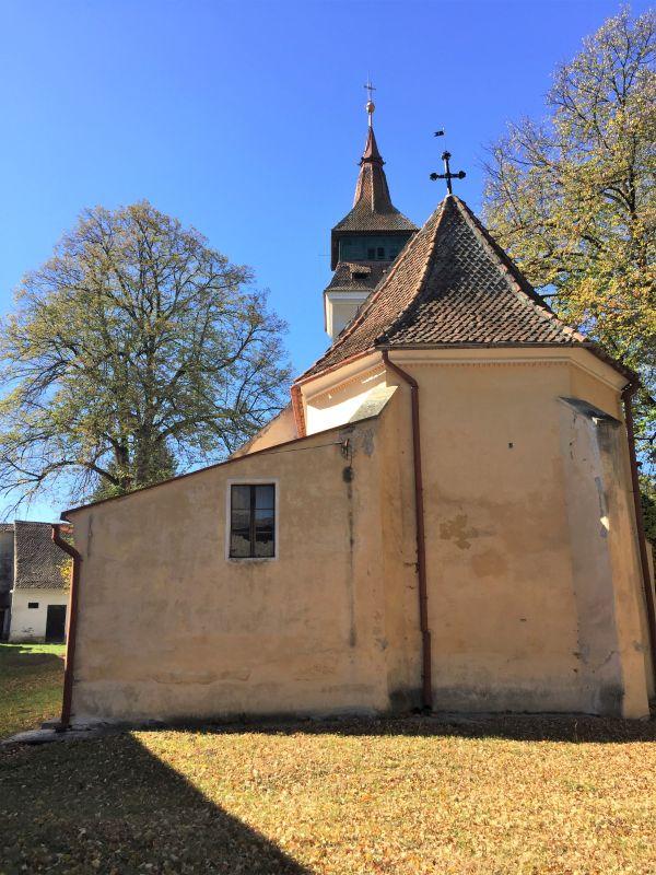 evangelische Kirche in der Kirchenburg von Wolkendorf / Vulcan, Burzenland