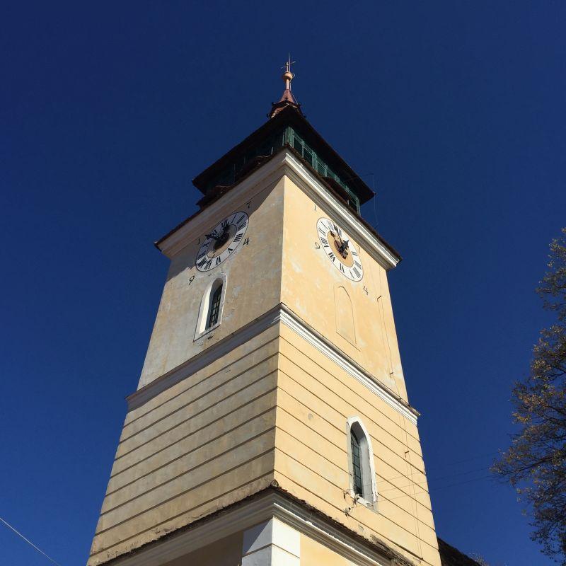 Kirchturm der Kirchenburg von Wolkendorf / Vulcan, Burzenland
