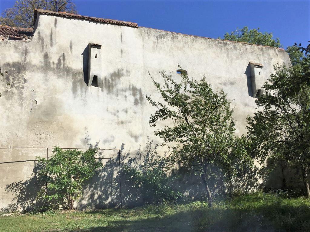Ringmauer der Kirchenburg von Wolkendorf / Vulcan, Burzenland