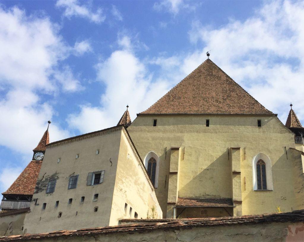 Weberturm der Kirchenburg von Bierthaelm