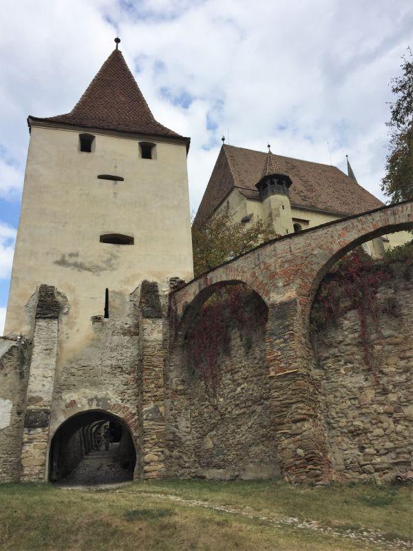 Speckturm der Kirchenburg von Birthaelm