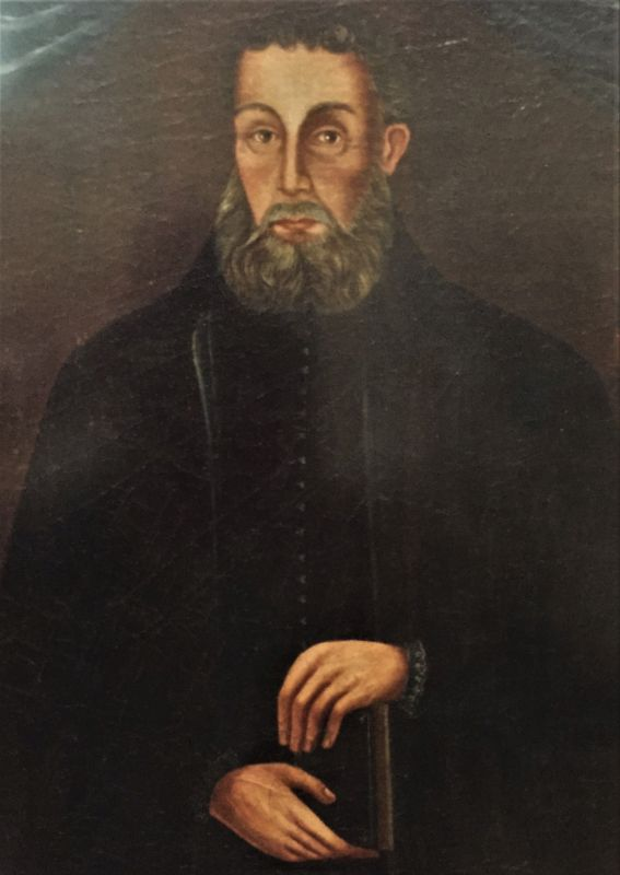 Portraetbild Bischof Lucas Unglerus (Ungleich)
