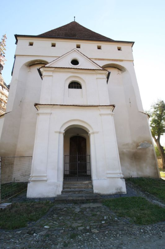 Kirchenburg von Keisd / Saschiz; siebenbuergisch-saechsisches UNESCO-Welterbe
