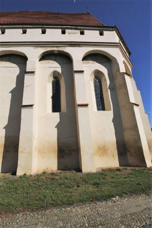 Chor der Wehrkirche in Keisd / Saschiz, Siebenbuergen