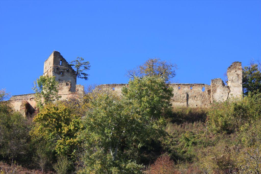 Ruinen der Bauernburg von Keisd / Saschiz