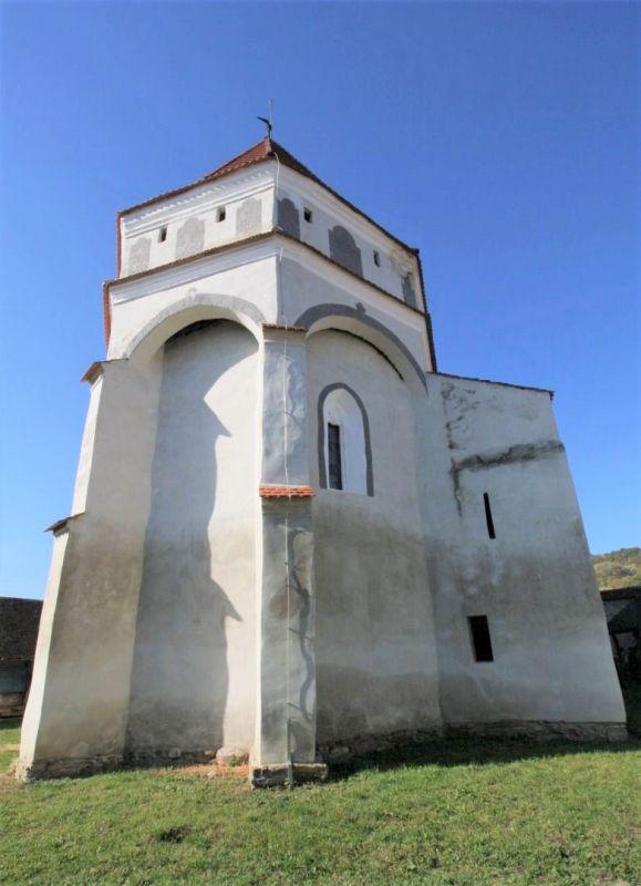 Befestigter Chor der Kirchenburg von Klosdorf / Cloaşterf in Siebenbuergen