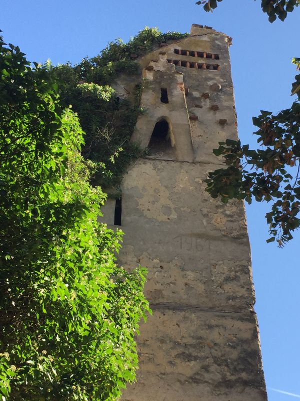 Wehrturm im Mauerring der Kirchenburg von Neustadt / Cristian
