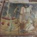 Wandmalerei in der romanischen Kapelle der Kirchenburg von Petersberg, Sanpetru
