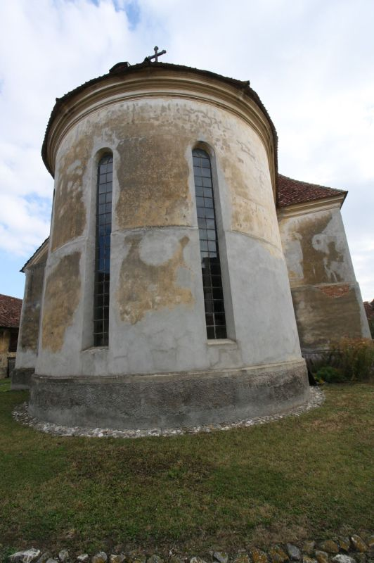 Chor der evangelischen Kirche von Petersberg, Sanpetru