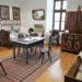 traditionelles saechsisches Zimmer im Museum der Traditionen in Zeiden / Codlea