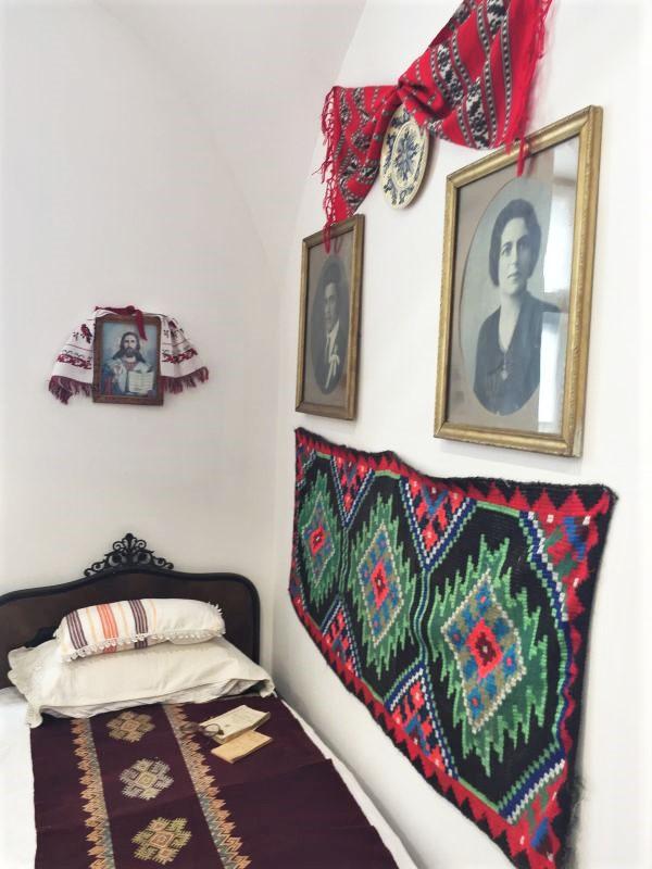 rumaenisches Zimmer im Museum der Traditionen in Zeiden / Codlea