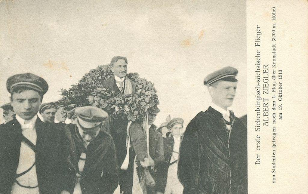 Albert Ziegler, siebenbuergisch-saechsischer Flugpionier