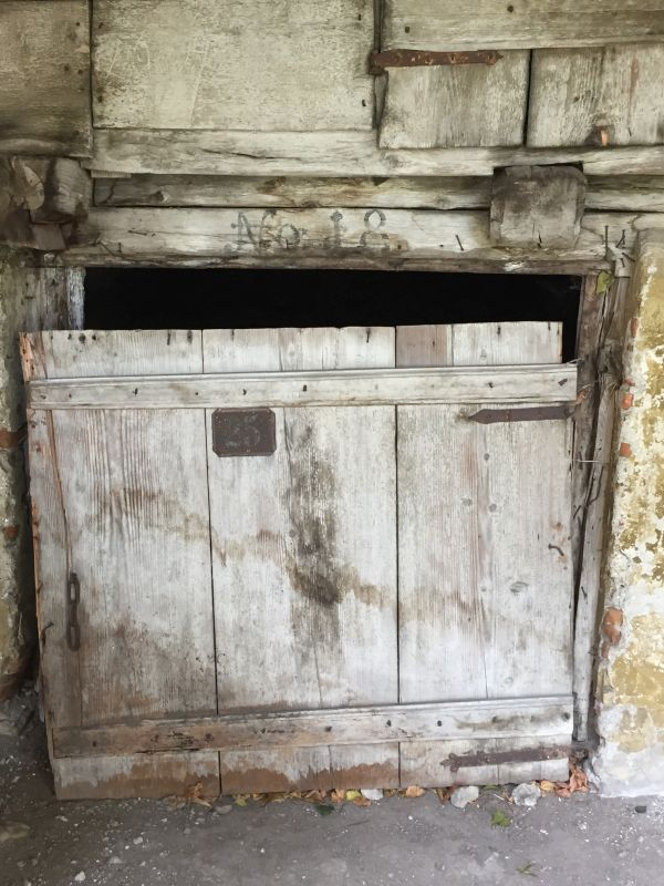 Fruchtkammer in der Zeidner Kirchenburg in Codlea, Siebenbuergen