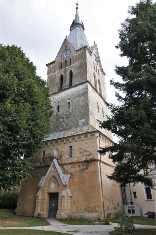 Kirchturm der Kirchenburg in Zeiden / Codlea, Siebenbuergen