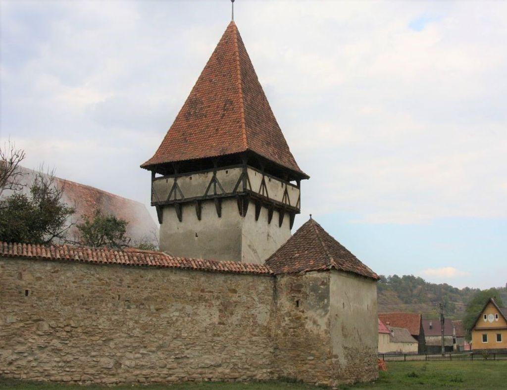 Kirchenburg in Cincsor, Kleinschenk, Rumaenien