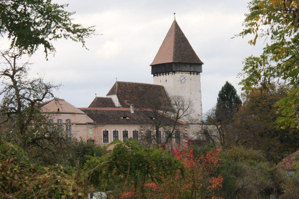 Kirchenburg von Holzmengen, Hosman im Harbachtal in Siebenbuergen