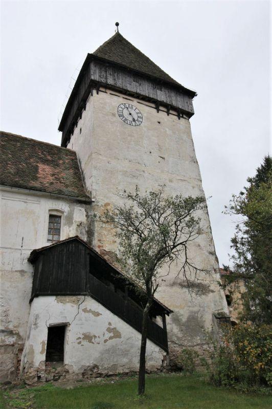 Glockenturm der Kirchenburg von Holzmengen, Hosman