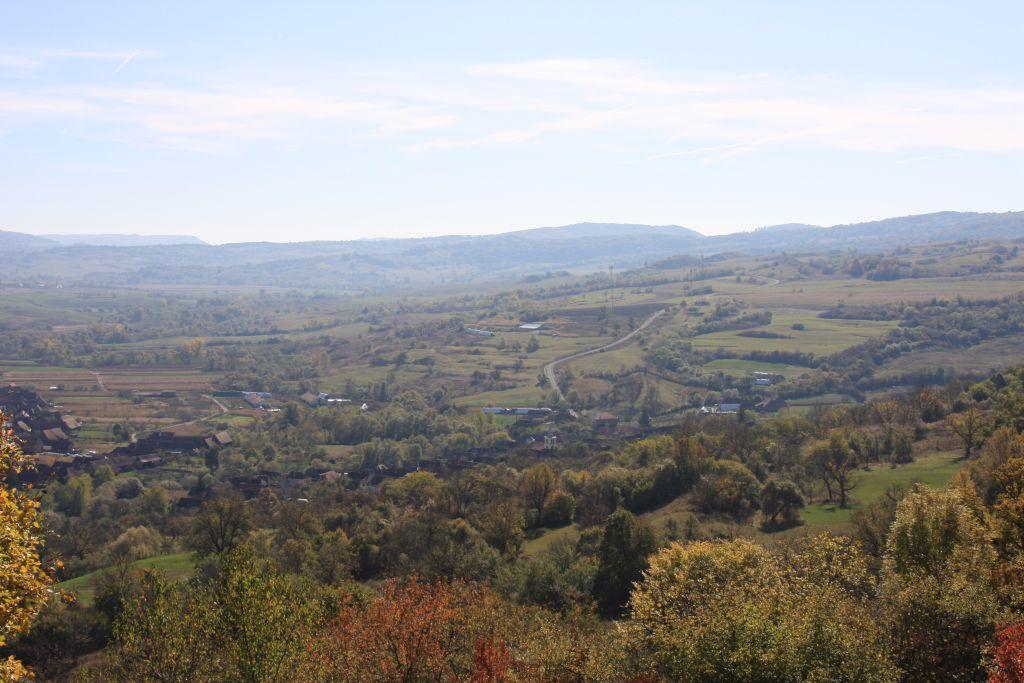 Landschaft in Siebenbuergen, Rumaenien